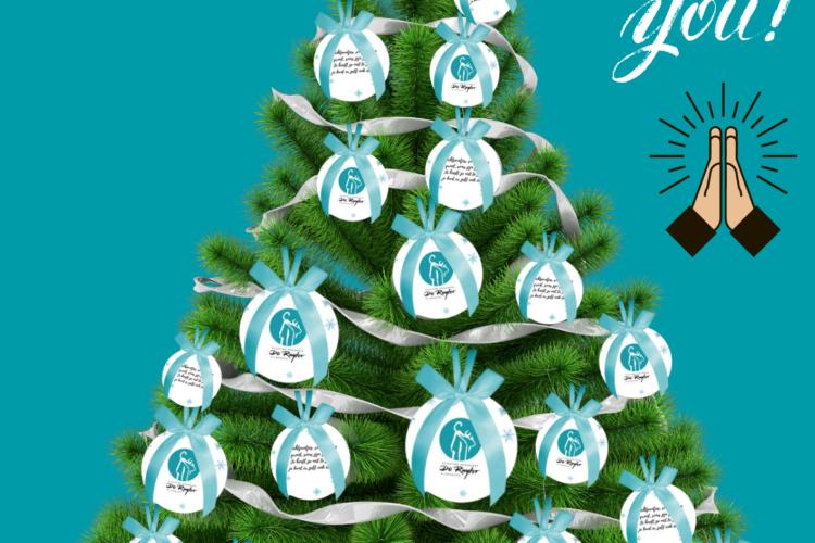 Filmpje: Dankbaarheid voor de voedselpakketten van de kerstballenactie